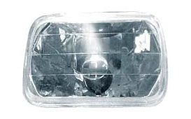 6052 Lightunit Plastic Reflector With Clear Glass Lens